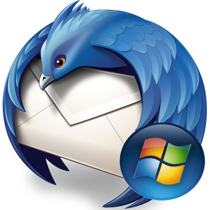 Logodi Mozilla Thunderbird per Windows