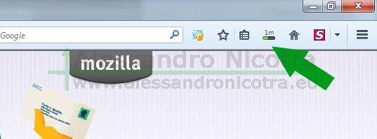 Scaricare Mozilla Thunderbird con firefox, stato di avanzamento del download