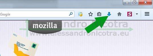 Scaricare Mozilla Thunderbird con firefox, download completato