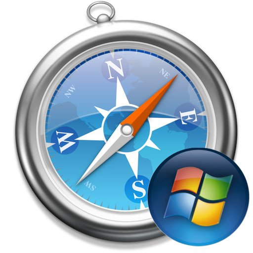 Logo del browser Safari per Windows