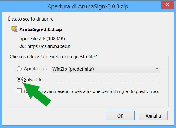 software arubasign gratis