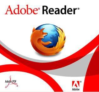 Logo Adobe Acrobat Reader - Mozilla Firefox