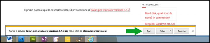 scaricare apple safari per window
