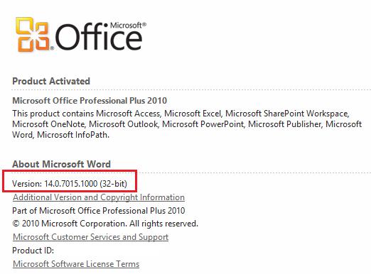 formato xblr - office 2010