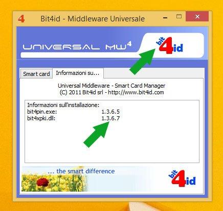 problema firma con bit4id middleware tab
