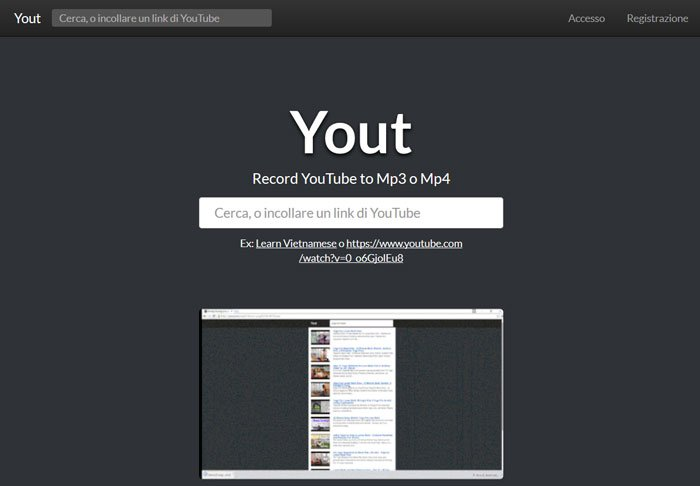 yout -home page