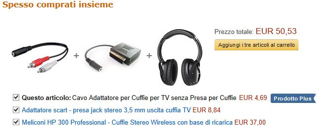 Adattatori e cuffie wireless