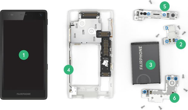 moduli fairphone