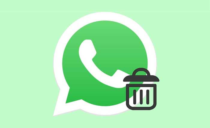 Eliminare messaggi WhatsApp