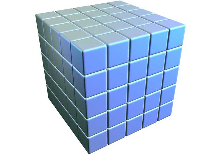 elevare un numero al cubo