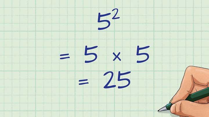 elevare un numero al quadrato