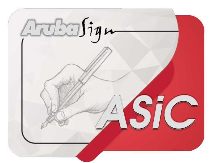 arubasign nuovo logo ASiC