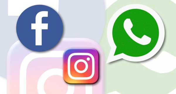 Dominio di Facebook , whatsapp, instagram