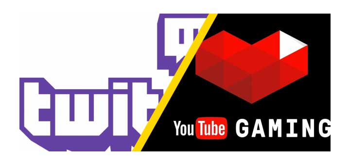 Piattaforme Gaming - Twitch - YouTube Gaming - fb.gg