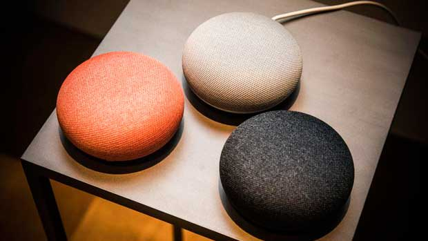 Colori di google home mini