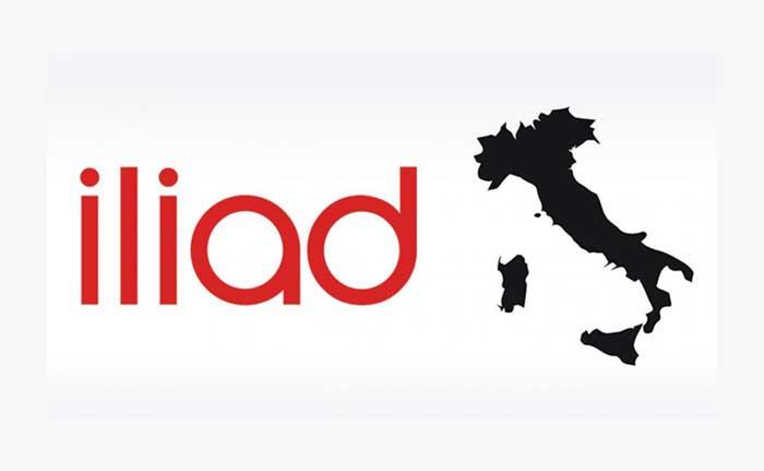copertura iliad in Italia