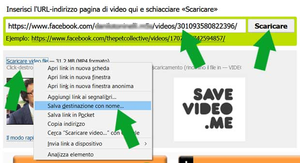 savevideo facebook